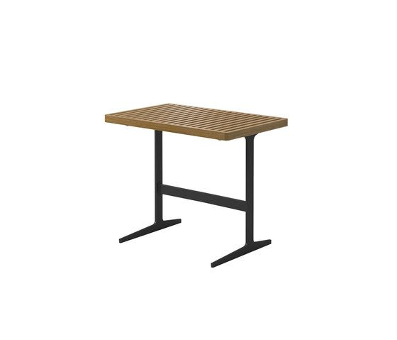 Gloster Furniture,Coffee & Side Tables,desk,end table,furniture,outdoor furniture,outdoor table,rectangle,table