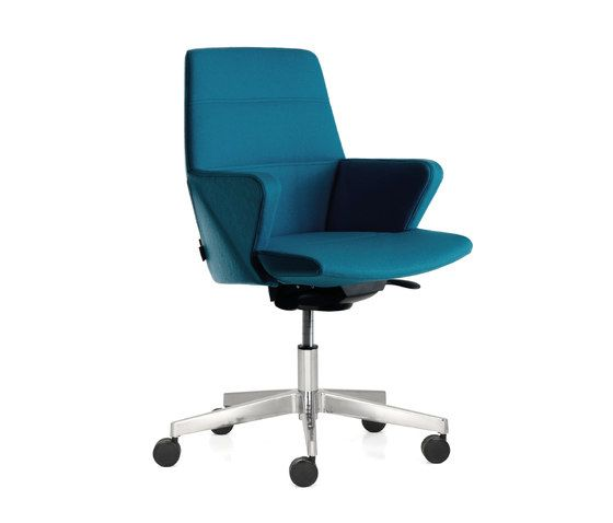 Quinti Sedute,Office Chairs,armrest,azure,chair,furniture,line,material property,office chair,product,turquoise