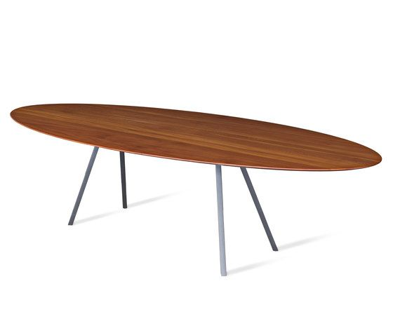Ign. Design.,Dining Tables,coffee table,furniture,line,outdoor table,oval,plywood,rectangle,table,wood