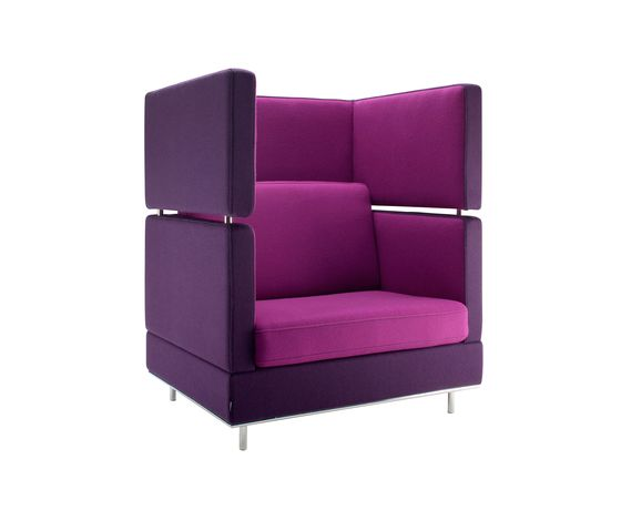Isku,Lounge Chairs,chair,furniture,magenta,purple,violet