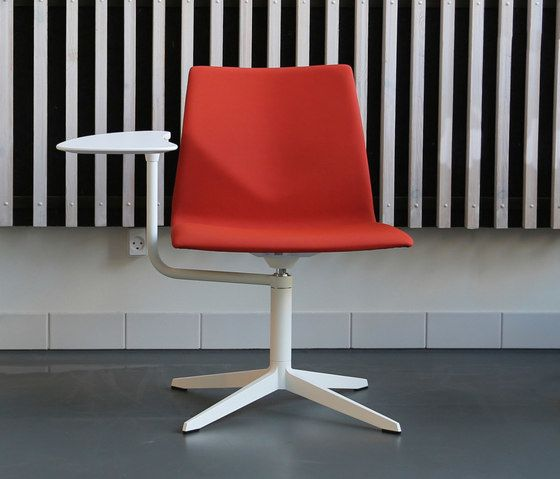 Four Design,Office Chairs,chair,design,furniture,material property,office chair,orange,red