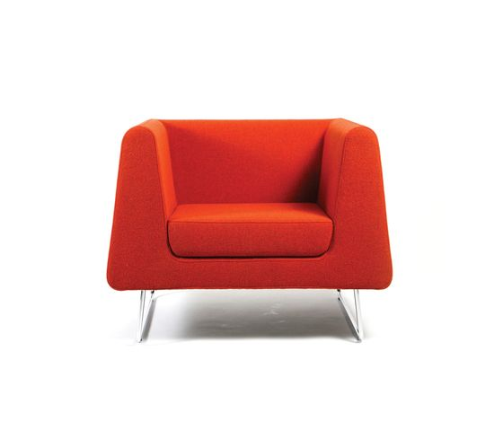 Inno,Armchairs,chair,furniture,orange,red