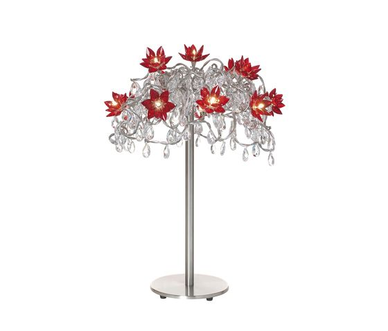 HARCO LOOR,Table Lamps,crystal,flower,plant,tree