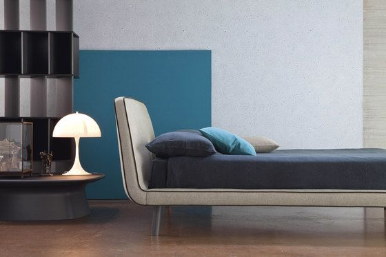 Bonaldo,Beds,bed,blue,couch,floor,flooring,furniture,interior design,living room,product,room,studio couch,turquoise,wall