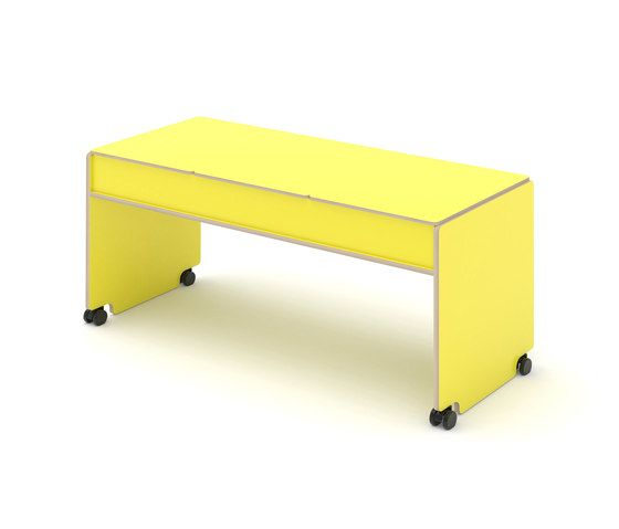 KLOSS,Tables & Desks,desk,furniture,line,rectangle,table,yellow