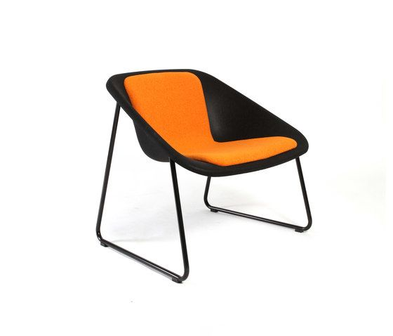 Inno,Lounge Chairs,chair,furniture,orange