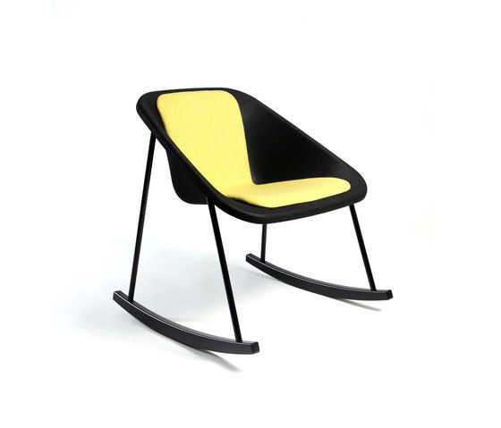 Inno,Armchairs,chair,furniture,rocking chair,yellow