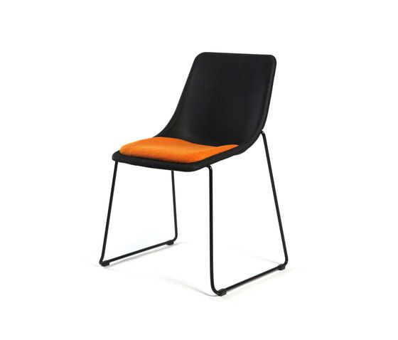 Inno,Dining Chairs,black,chair,furniture,orange
