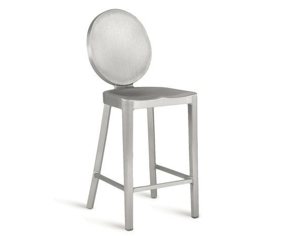 Hand Brushed,Emeco,Stools,bar stool,chair,furniture,stool,table