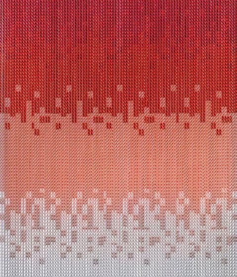 KriskaDECOR®,Screens,design,line,pattern,red,text,textile