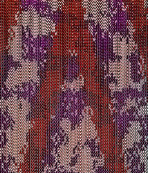 KriskaDECOR®,Screens,design,magenta,maroon,pattern,pink,purple,red,textile,violet,woven fabric