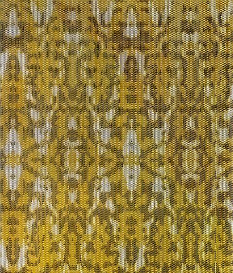 KriskaDECOR®,Screens,close-up,design,pattern,textile,yellow