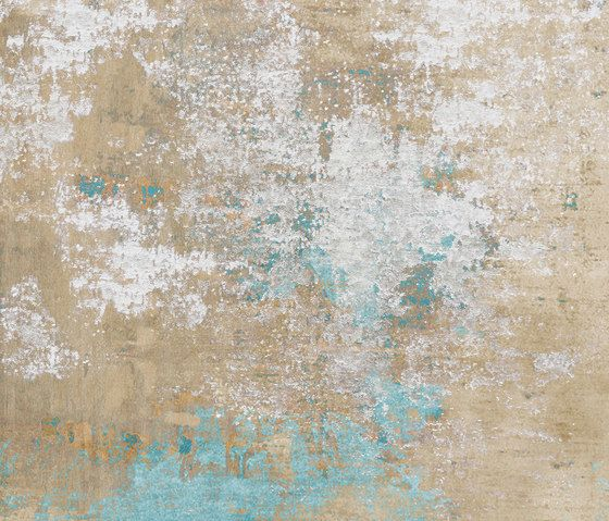 beige,pattern,turquoise,wall