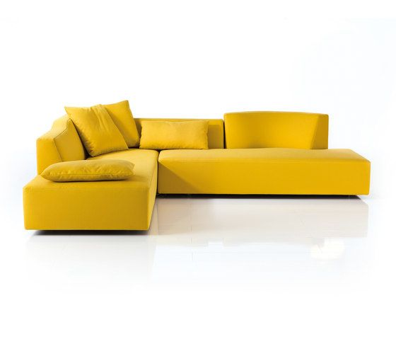 Brühl,Sofas,chaise longue,couch,furniture,orange,room,sofa bed,studio couch,yellow
