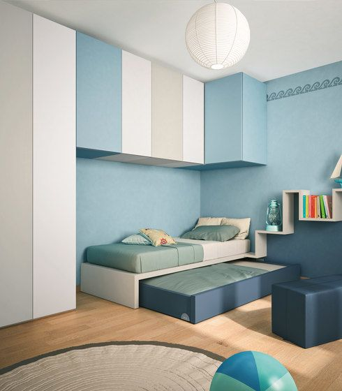 LAGO,Beds,bed,bed frame,bed sheet,bedroom,building,ceiling,floor,furniture,house,interior design,mattress,room,turquoise,wall