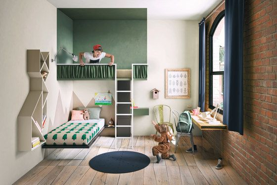 LAGO,Beds,building,floor,furniture,green,home,house,interior design,living room,property,room,wall
