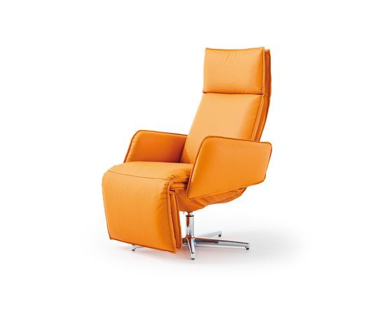 Durlet,Seating,chair,furniture,orange,recliner,yellow