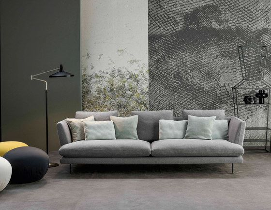 Bonaldo,Sofas,coffee table,couch,design,floor,furniture,interior design,living room,room,sofa bed,studio couch,table,wall,wallpaper