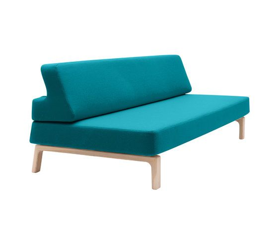 Softline A/S,Beds,aqua,chair,couch,furniture,outdoor furniture,studio couch,teal,turquoise