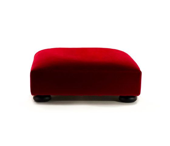 Mussi Italy,Footstools,furniture,ottoman,red