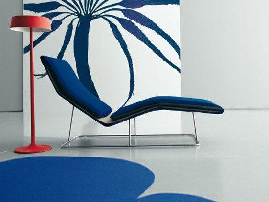 Living Divani,Seating,blue,chair,chaise longue,cobalt blue,couch,design,electric blue,furniture,interior design,modern art,room