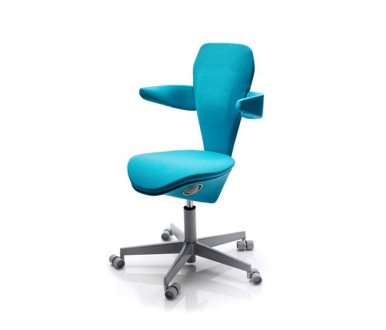 Officeline,Office Chairs,armrest,azure,chair,furniture,line,material property,office chair,turquoise