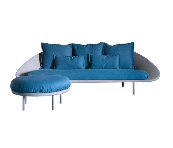 miniforms,Sofas,blue,couch,furniture,sofa bed,studio couch,turquoise