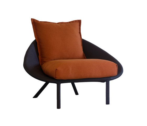 miniforms,Lounge Chairs,chair,furniture,orange