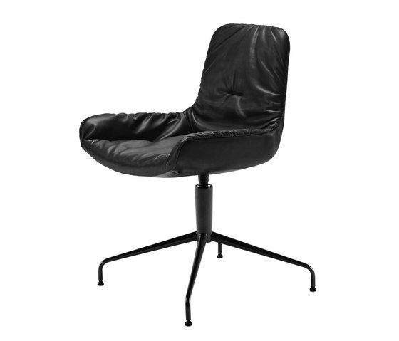 Freifrau Sitzmöbelmanufaktur,Office Chairs,black,chair,furniture,line,office chair
