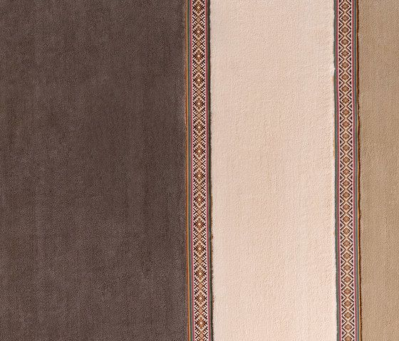 EMKO,Rugs,beige,brown,leather,textile