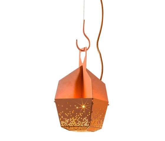 Blond Belysning,Pendant Lights,lantern,lighting,orange