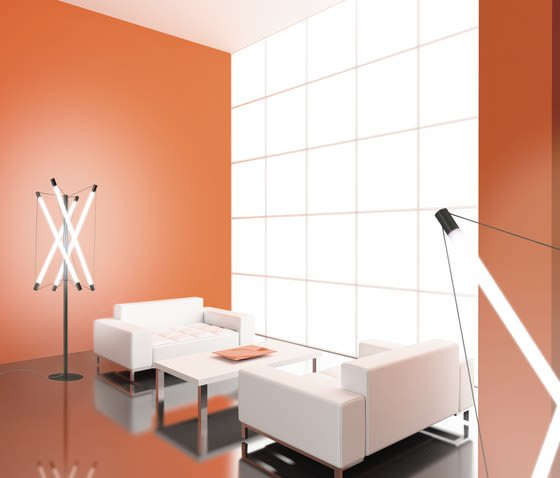 Archxx,Floor Lamps,architecture,ceiling,design,floor,flooring,furniture,interior design,material property,orange,room,table,tile,wall