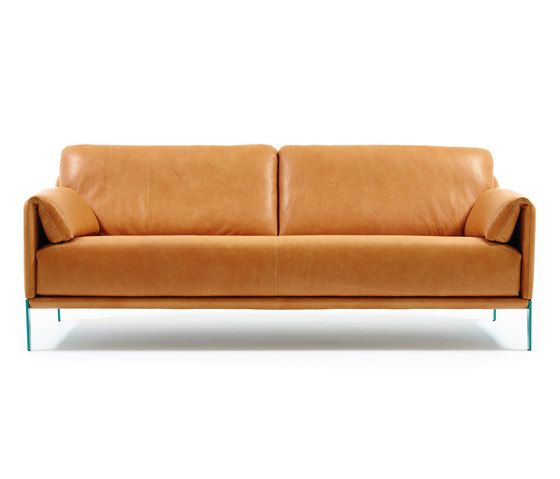 Durlet,Sofas,beige,brown,comfort,couch,furniture,leather,orange,sofa bed,studio couch,tan