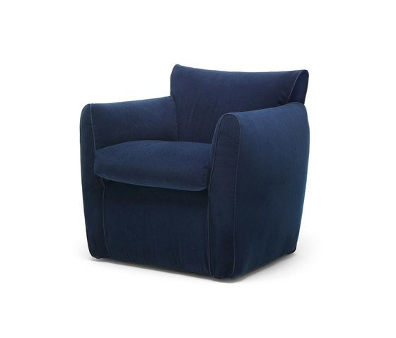 Eponimo,Lounge Chairs,blue,chair,club chair,furniture
