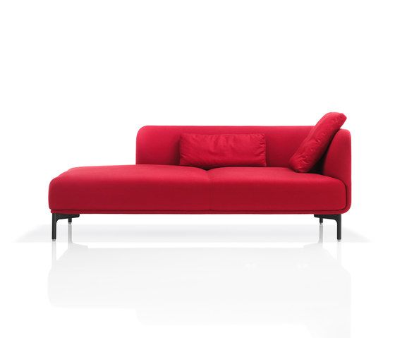 Wittmann,Seating,couch,furniture,red,sofa bed,studio couch
