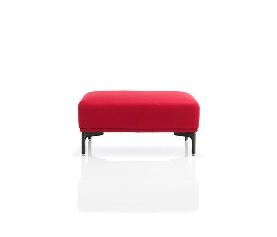 Wittmann,Footstools,furniture,ottoman,red,stool