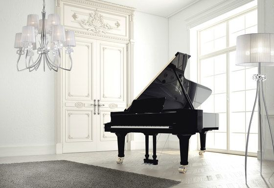 MANTRA,Pendant Lights,electronic device,fortepiano,interior design,keyboard,musical instrument,pianist,piano,recital,room,spinet,technology