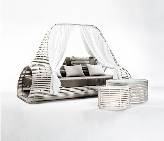 Kenneth Cobonpue,Outdoor Furniture,bed,furniture,product,studio couch,wicker
