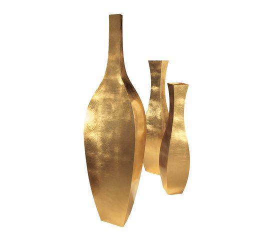 De Castelli,Plant Pots,brass,metal,vase