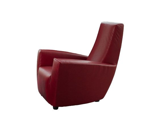 Label,Lounge Chairs,chair,club chair,furniture,recliner,red