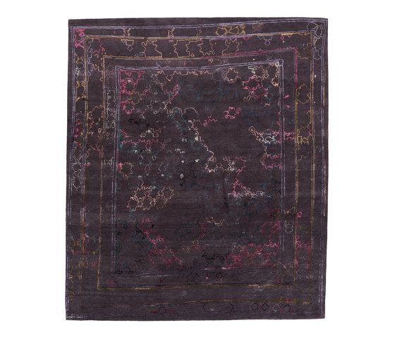 REUBER HENNING,Rugs,brown,maroon,purple,rectangle,rug,violet