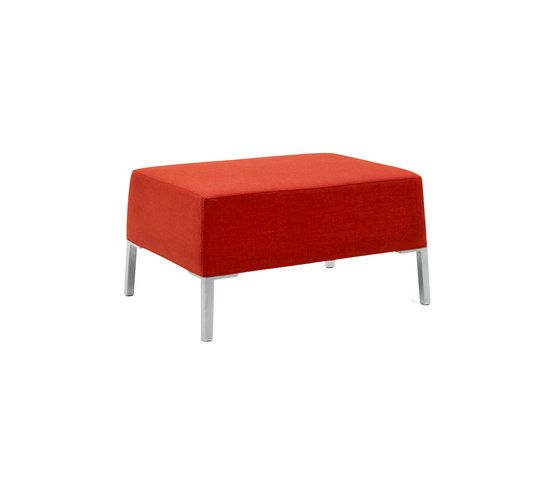 Paustian,Footstools,furniture,orange,rectangle,red,table