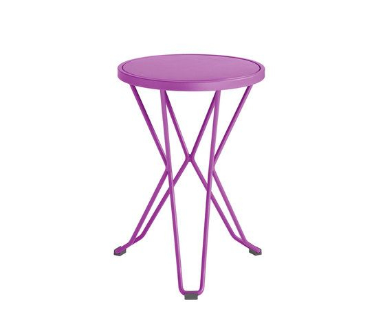 iSi mar,Stools,end table,furniture,outdoor table,pink,purple,stool,table,violet