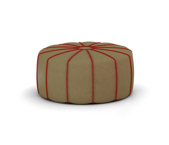 My home collection,Footstools,orange,pouf