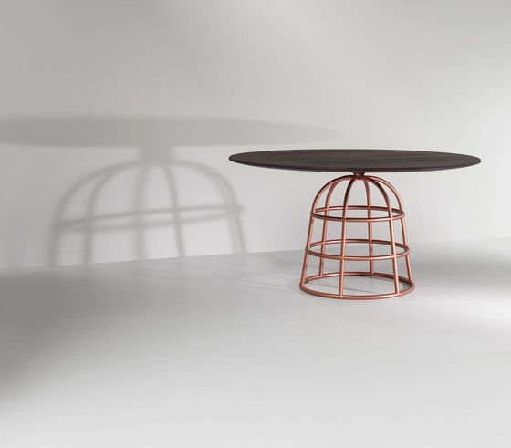 Bonaldo,Dining Tables,furniture,iron,metal,table