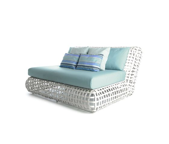 Kenneth Cobonpue,Beds,chair,furniture,product,studio couch,turquoise