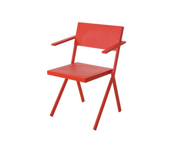 Scarlet Red,EMU,Outdoor Chairs,chair,folding chair,furniture,red
