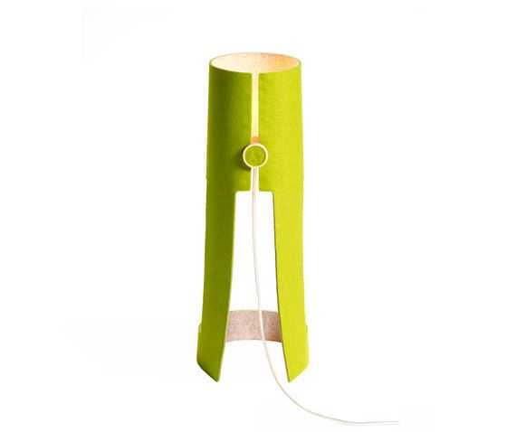 Domus,Table Lamps,green,yellow