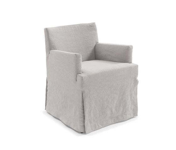 Frigerio,Dining Chairs,beige,chair,club chair,furniture,slipcover