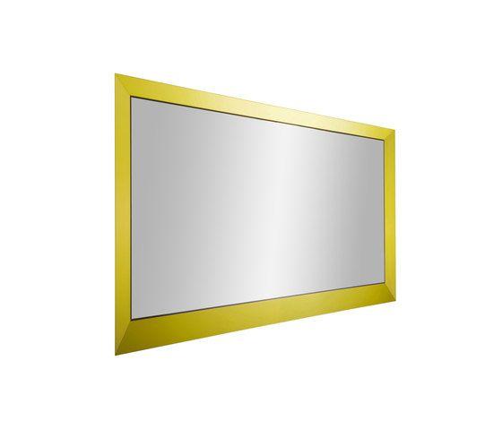 Christine Kröncke,Mirrors,mirror,rectangle,yellow